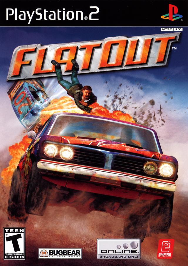 Flatout Sony Playstation 2 Game