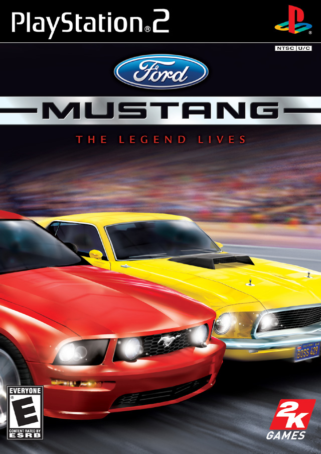 Ford Mustang The Legend Lives Sony Playstation 2 Game