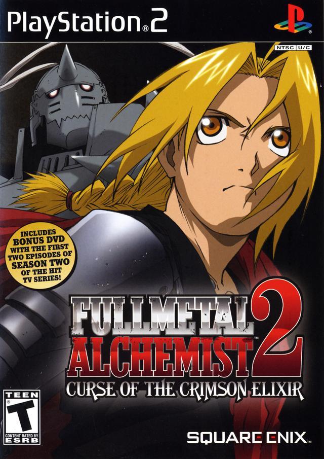 Fullmetal Alchemist 2 Curse of the Crimson Elixir Sony Playstation 2 Game