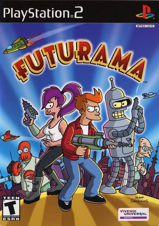 Futurama Sony Playstation 2 Game