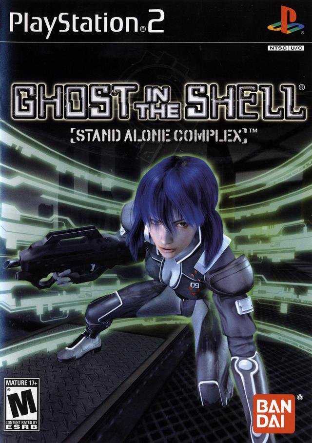 Ghost In The Shell Sony Playstation 2 Game