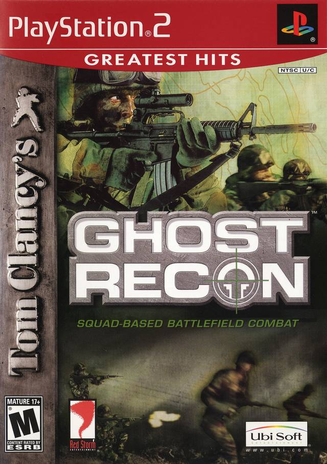 Ghost Recon Sony Playstation 2 Game