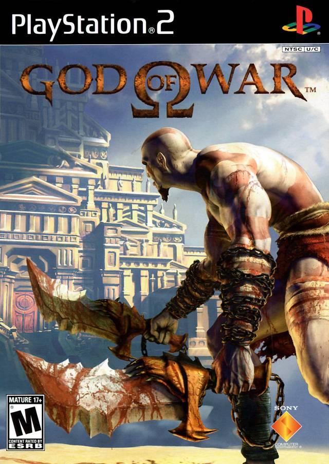 Original God Of War Sony Playstation 2 Game On Sale