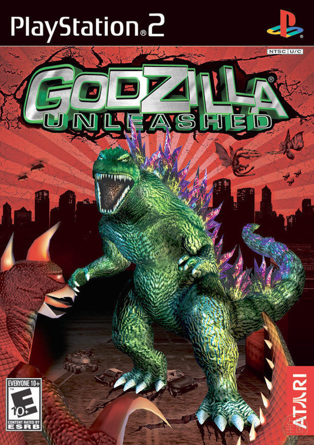 Godzilla Unleashed Sony Playstation 2 Game