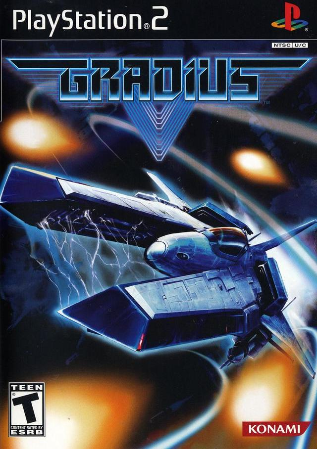 gradius v sony playstation 2 game
