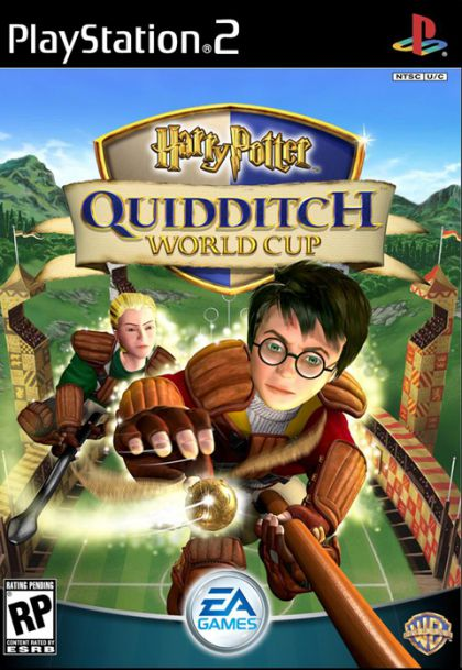 Harry Potter Quidditch World Cup Sony Playstation 2 Game
