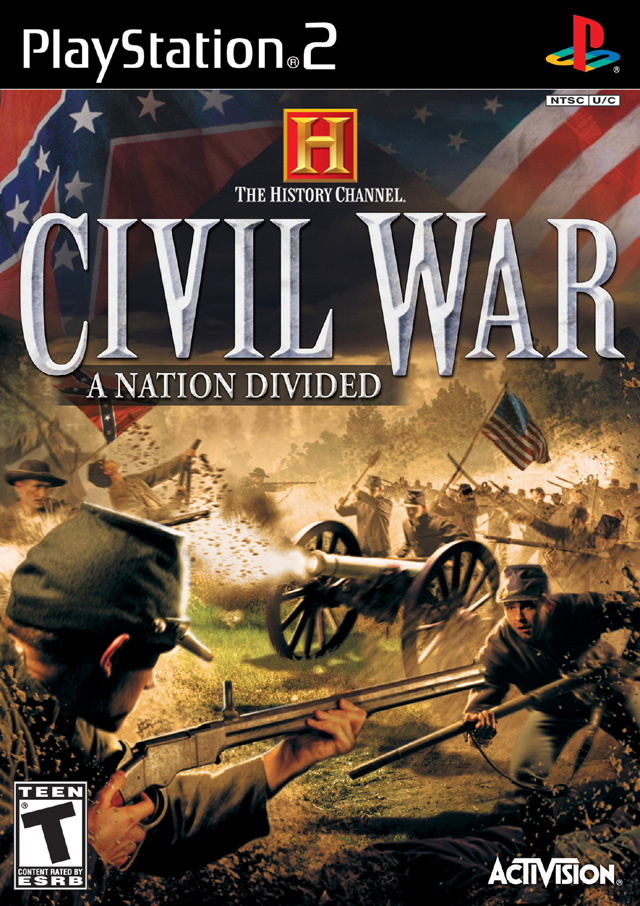 History Games For Ps3 : History channel civil war a nation divided sony