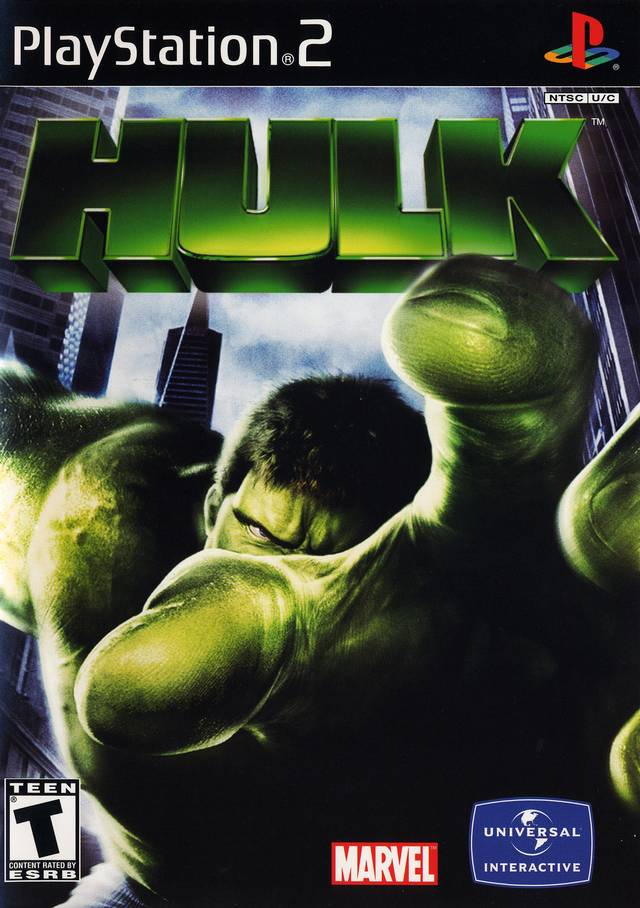 Hulk Sony Playstation 2 Game