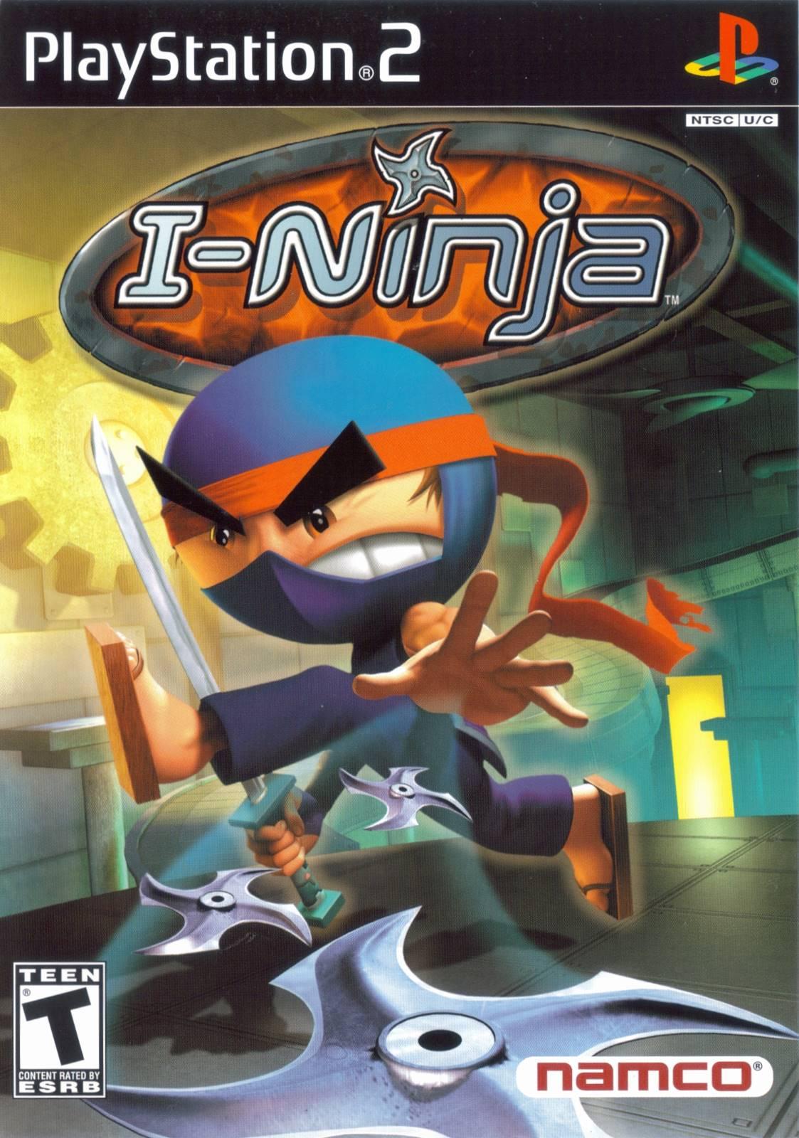 I-Ninja Sony Playstation 2 Game