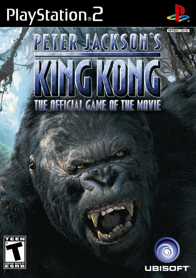 king kong the movie sony playstation 2 game