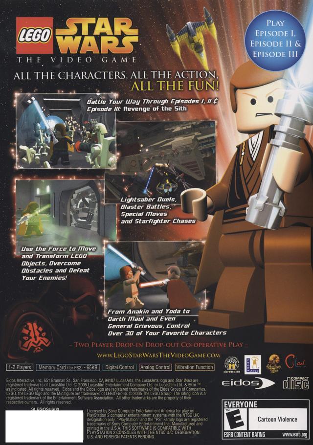 Lego Star Wars Sony Playstation 2 Game