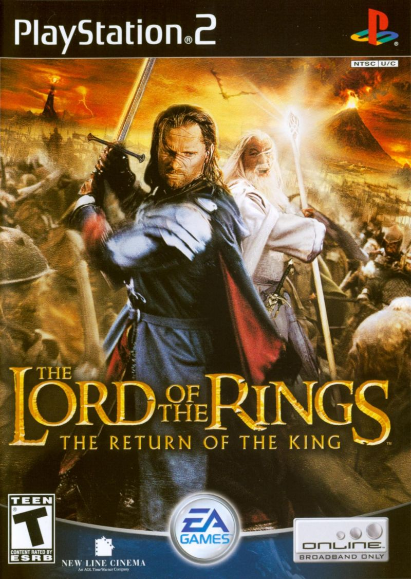 Lord of the Rings Return of King Sony Playstation 2 Game
