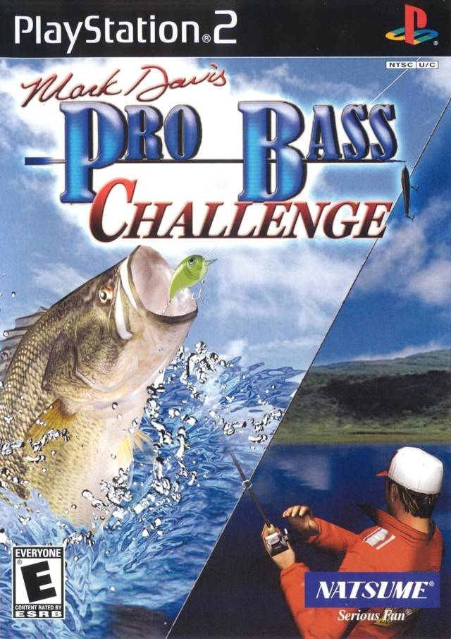 Mark davis pro bass fishing sony playstation 2 game for Ps3 fishing games