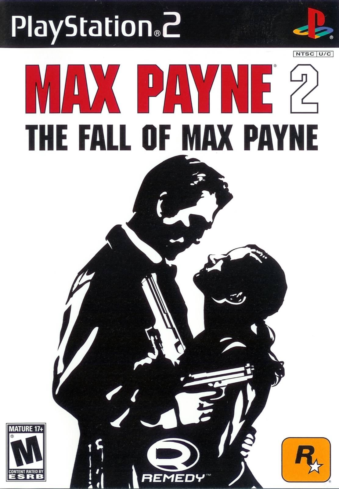 Max Payne 2 Fall of Max Payne Sony Playstation 2 Game