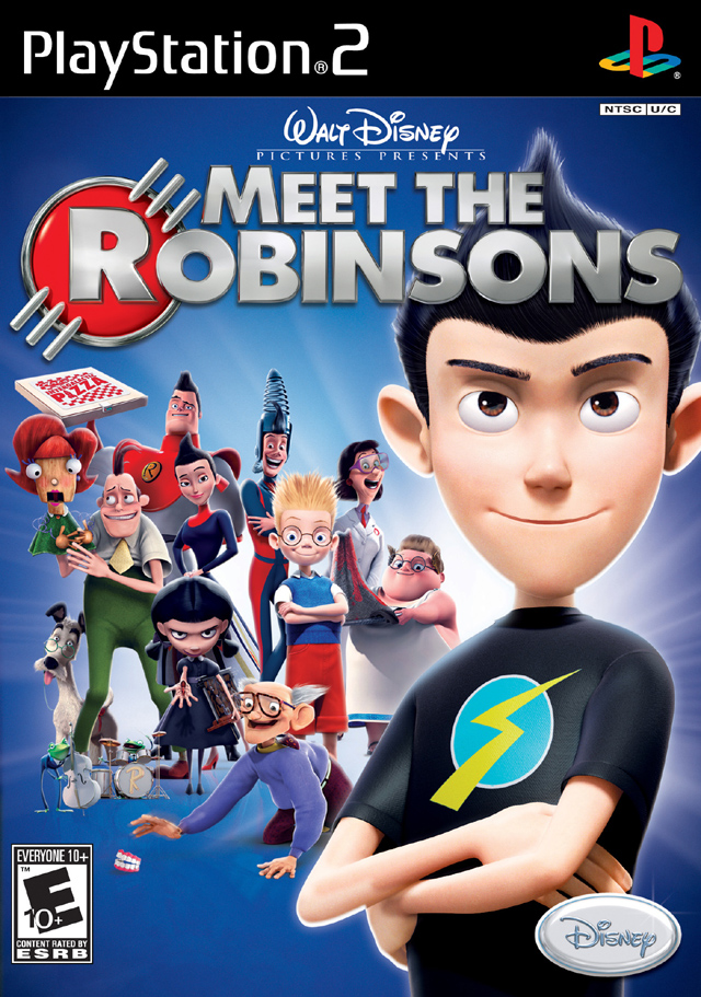 meet the robinsons sony playstation 2 game