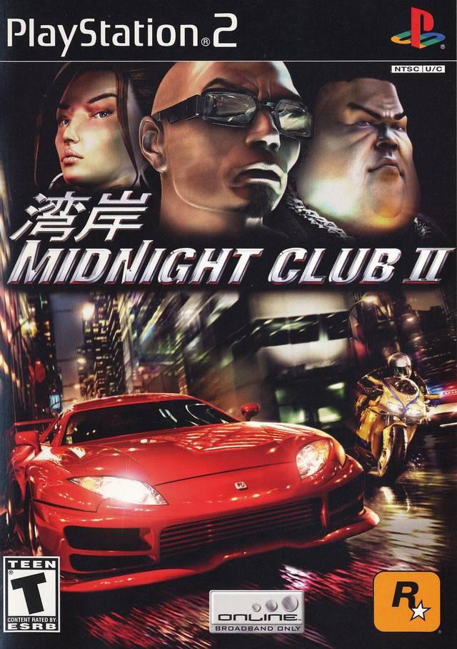 Midnight Club 2 Sony Playstation 2 Game