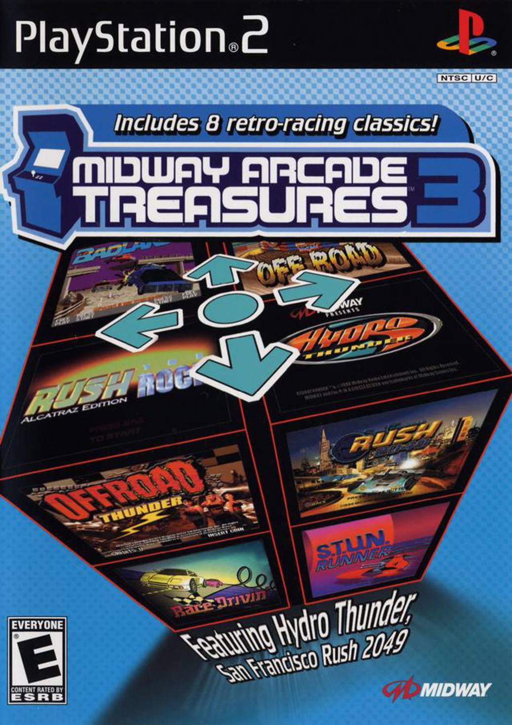 Midway Arcade Treasures 3 Sony Playstation 2 Game