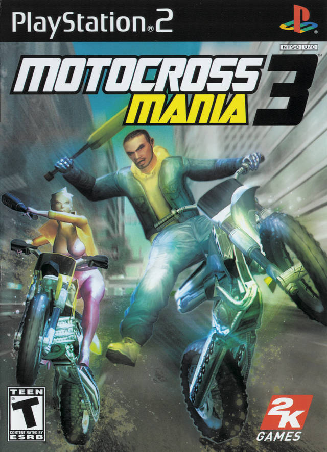 Motocross Mania 3 Sony Playstation 2 Game