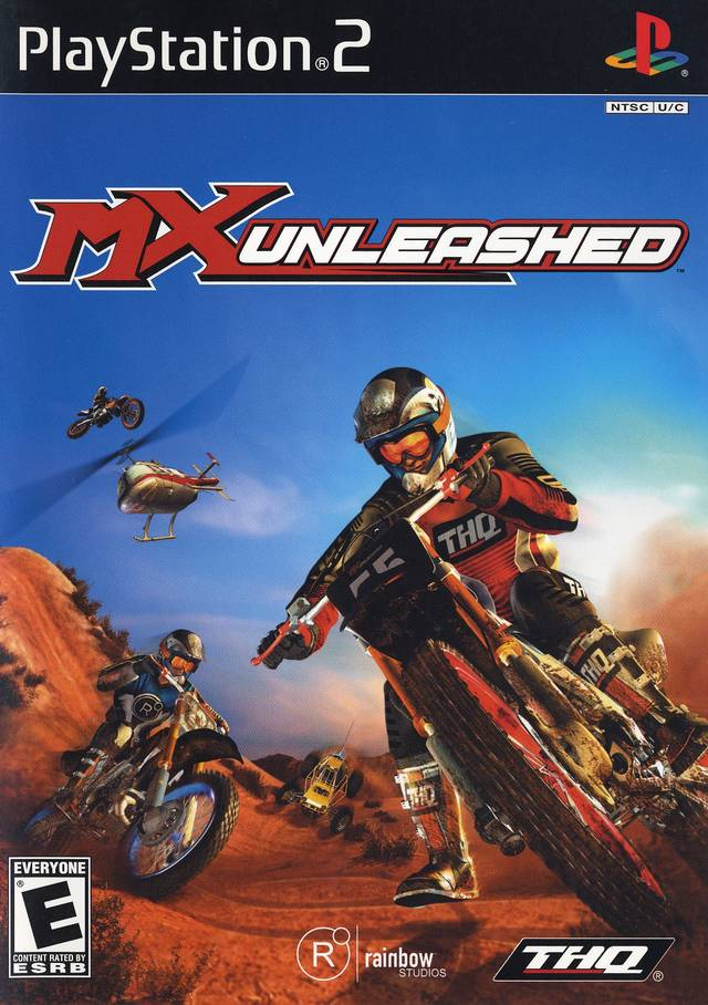 MX Unleashed Sony Playstation 2 Game