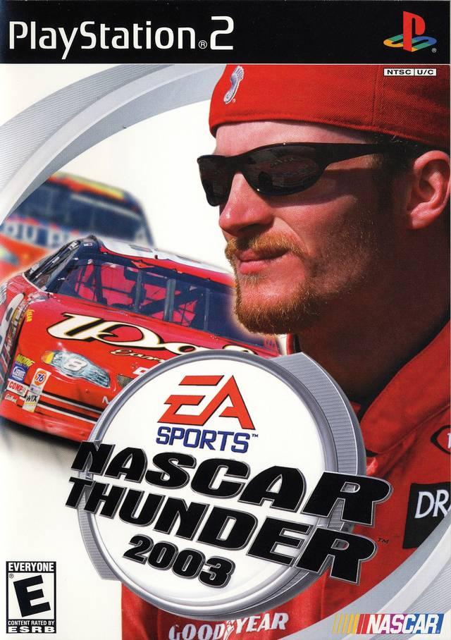 NASCAR Thunder 2003 Sony Playstation 2 Game
