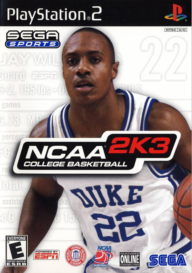 NCAA Basketball 2K3 Sony Playstation 2 Game