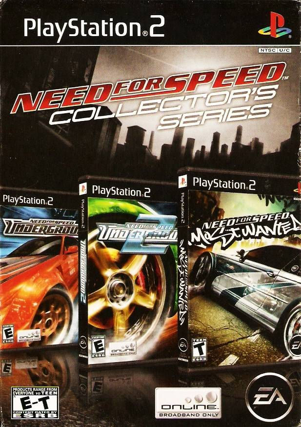 Need For Speed Collector S Series Sony Playstation 2 Game