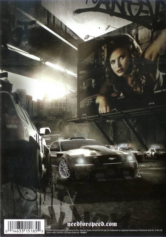 Need For Speed Most Wanted Black Sony Playstation 2 Game