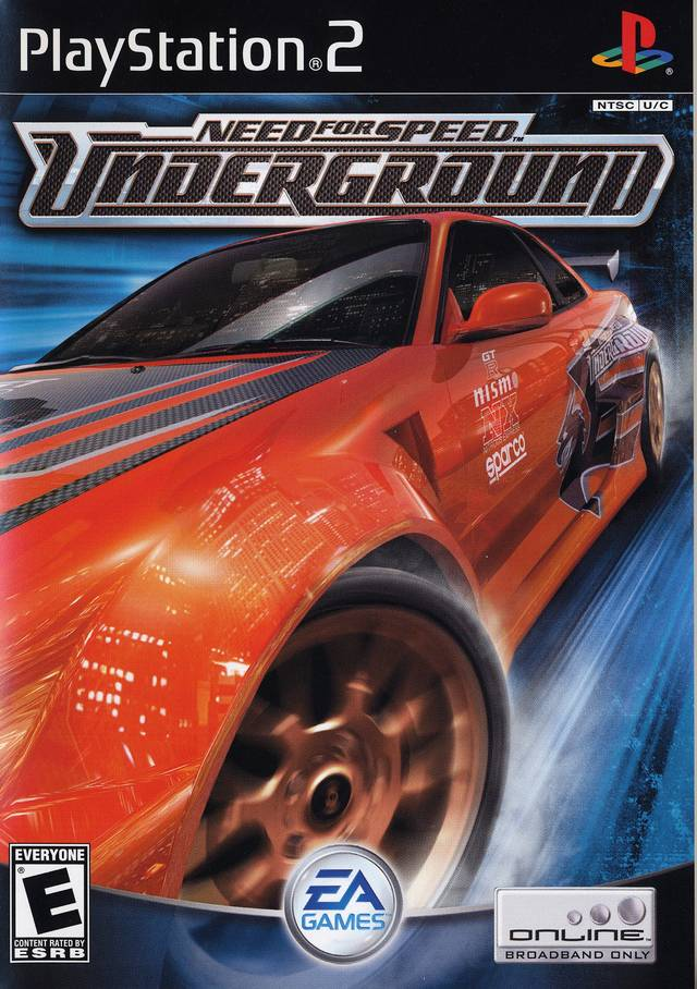 Need for speed underground sony playstation 2 game - Need for speed underground 1 wallpaper ...