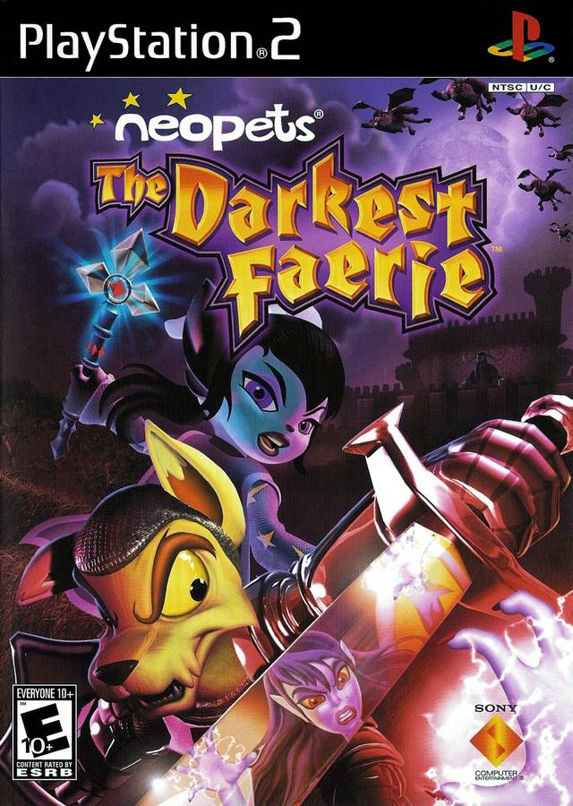 NeoPets the Darkest Faerie Sony Playstation 2 Game