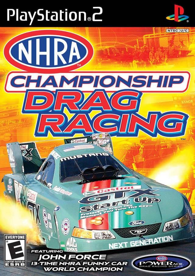 nhra championship drag racing sony playstation 2 game. Black Bedroom Furniture Sets. Home Design Ideas
