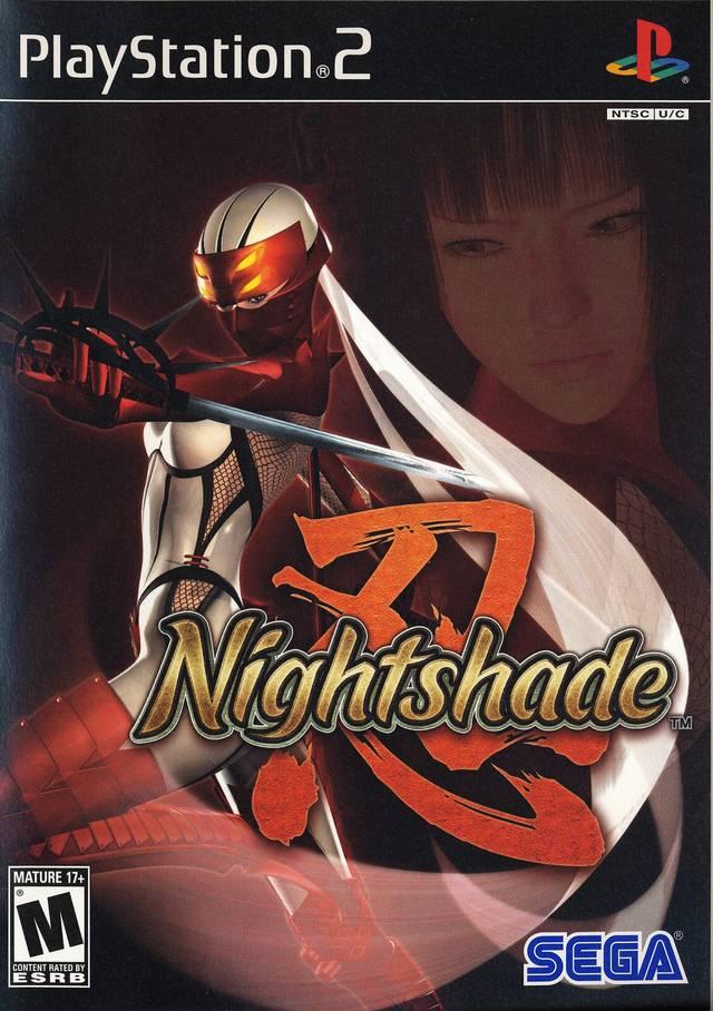 nightshade instruction manual ps2