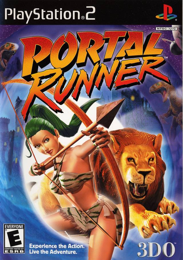 Portal Runner Sony Playstation 2 Game