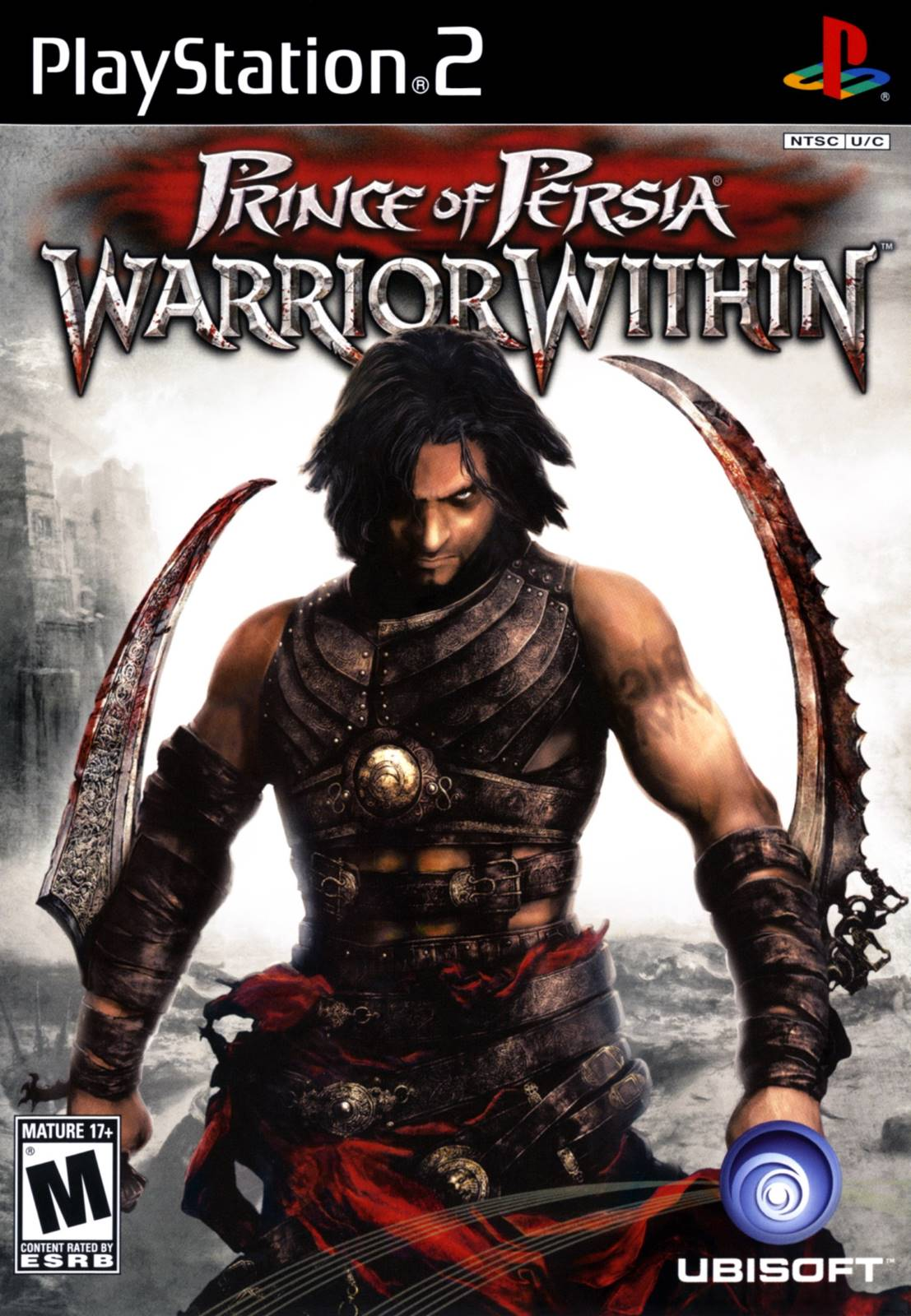 Prince of Persia Warrior Within Sony Playstation 2 Game