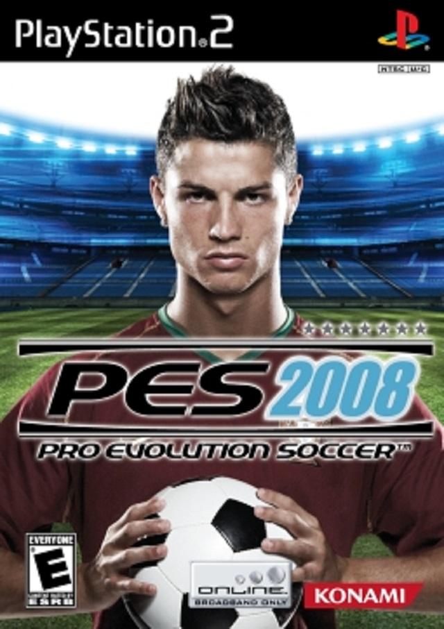 Pro Evolution Soccer 2008 Sony Playstation 2 Game