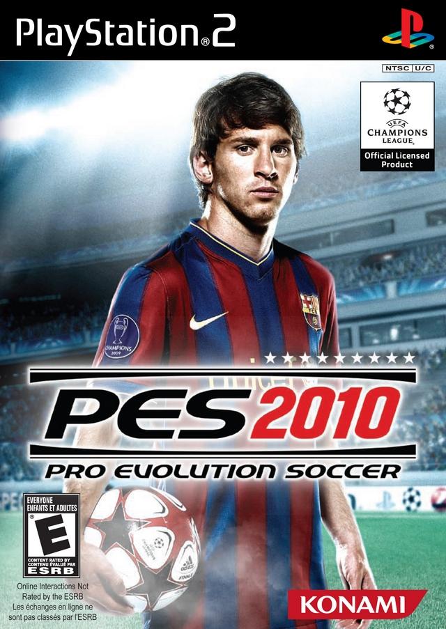 Pro Evolution Soccer 2010 Sony Playstation 2 Game