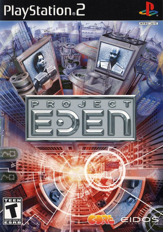 Project Eden Sony Playstation 2 Game