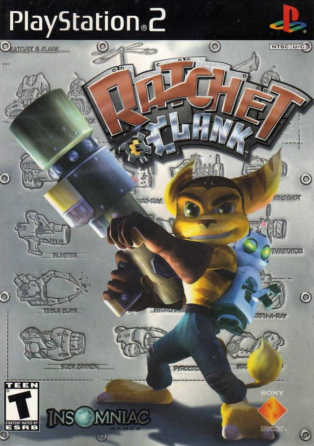 Ratchet and Clank Sony Playstation 2 Game