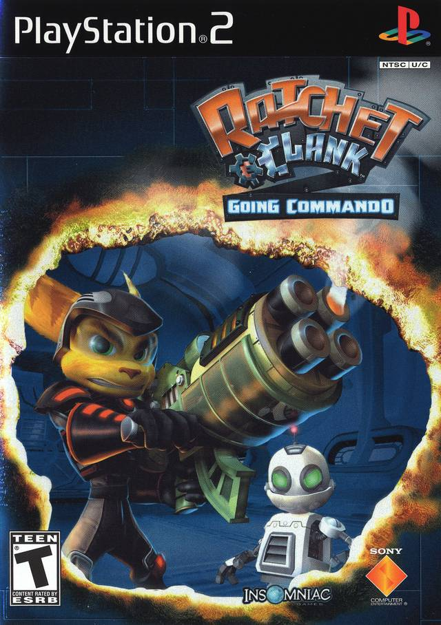 Ratchet And Clank Going Commando Sony Playstation 2 Game