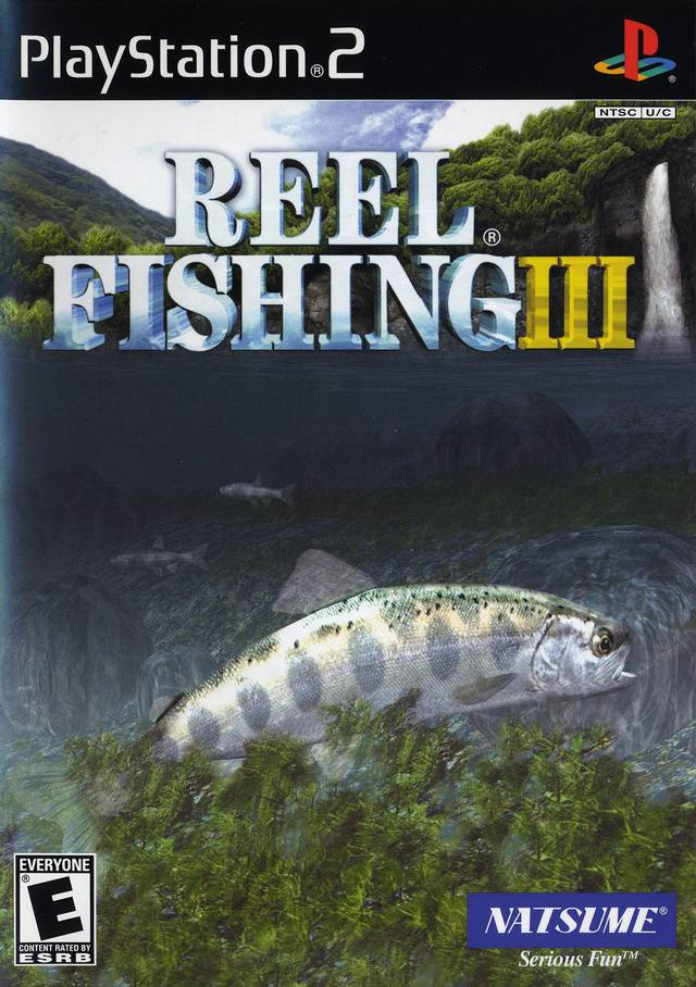 Reel fishing iii sony playstation 2 game for Ps3 fishing games