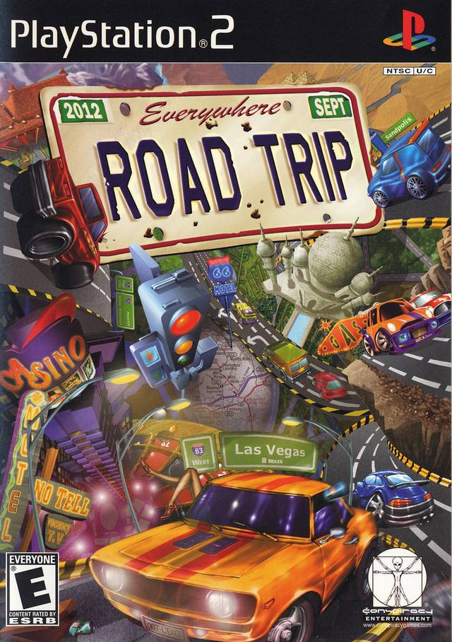 Road Trip Sony Playstation 2 Game