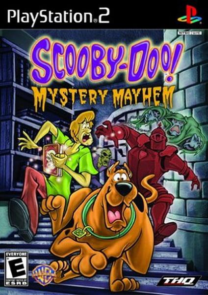 Scooby Doo Mystery Mayhem Sony Playstation 2 Game
