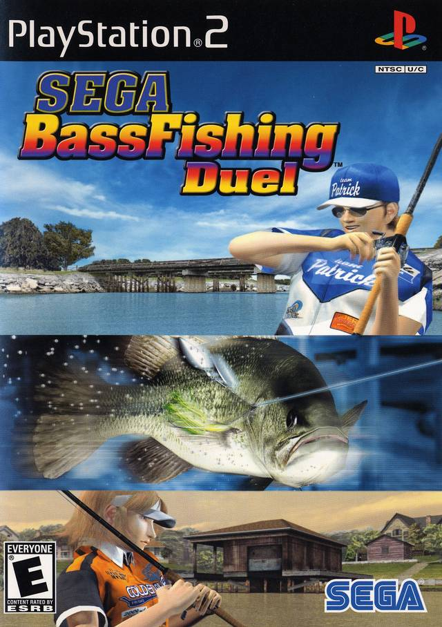 Sega bass fishing duel sony playstation 2 game for Ps3 fishing games