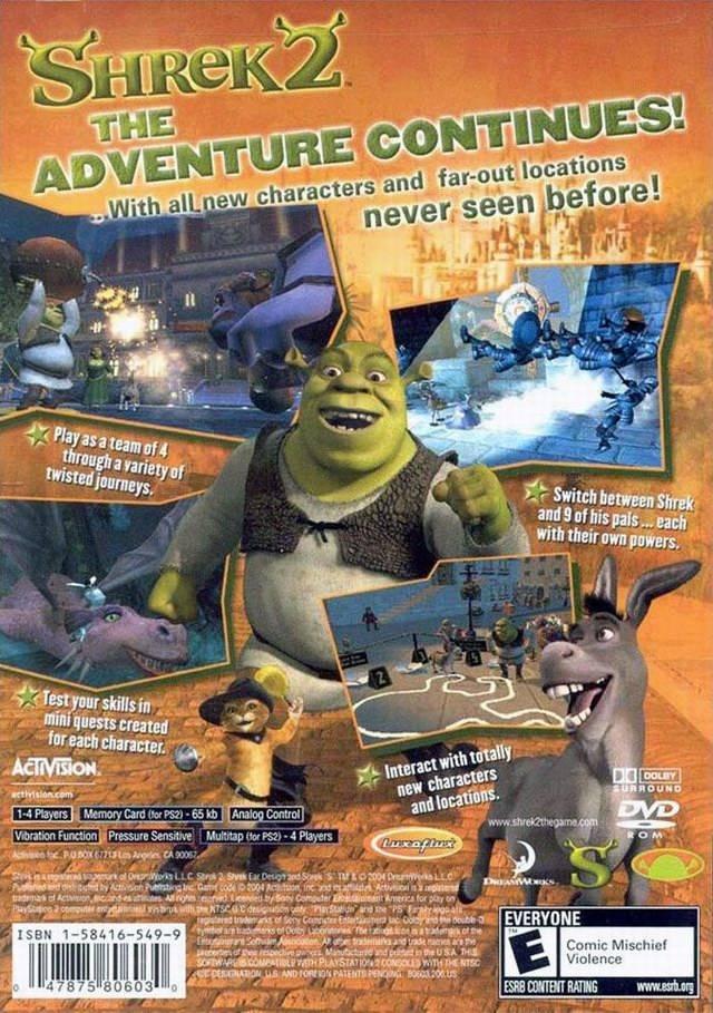 Shrek 2 Ps2 скачать торрент - фото 6