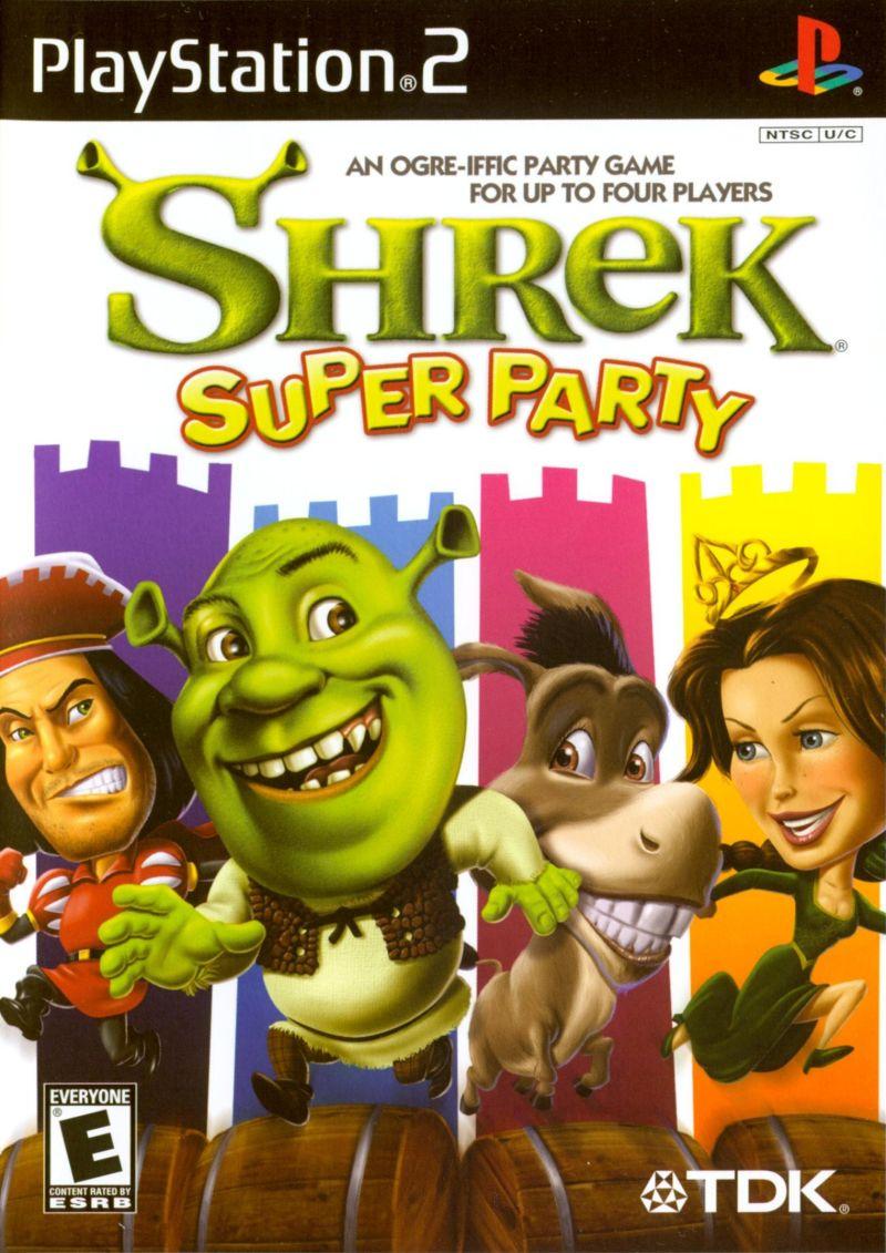 Shrek Super Party Sony Playstation 2 Game