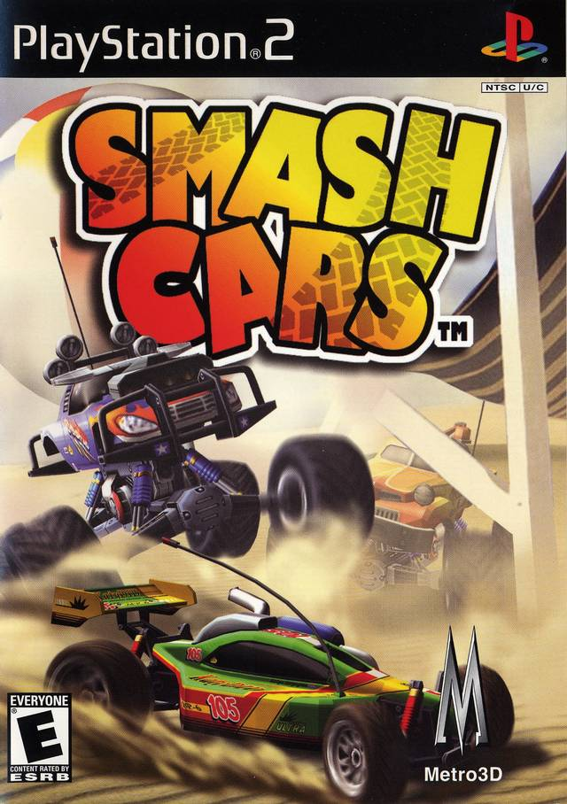Smash Cars Sony Playstation 2 Game