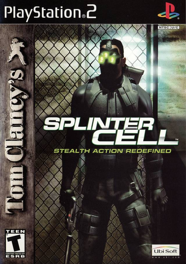 Splinter Cell Sony Playstation 2 Game