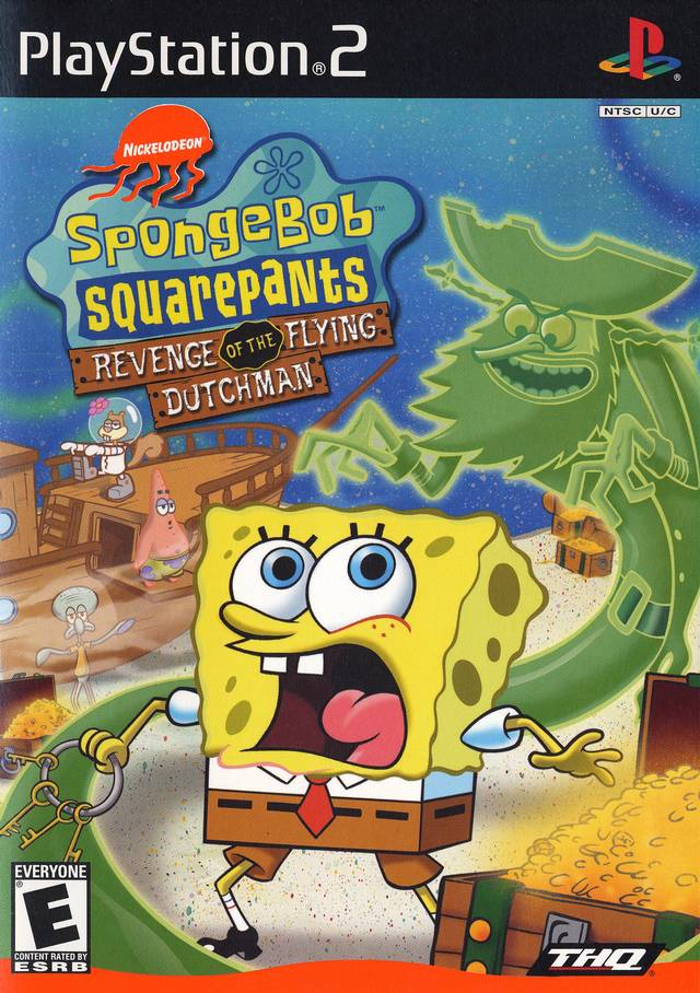 spongebob squarepants revenge of the flying dutchman sony