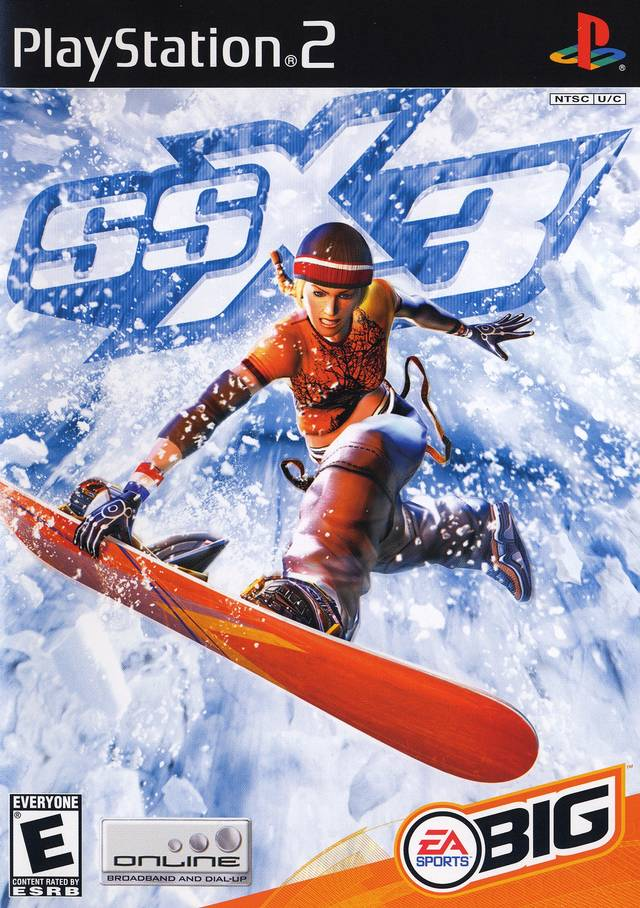 Snowboard game playstation 2