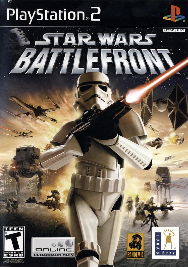 Star Wars Battlefront Sony Playstation 2 Game