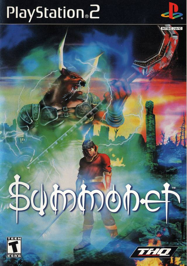 Summoner Sony Playstation 2 Game